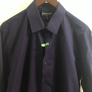 EXSPRESS 👔👔modern fit classic point collar